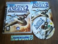 BLAZING ANGELS 2 II-SECRET MISSIONS OF WWII / PS3 SONY PLAYSTATION 3 PAL COMPLET
