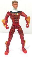 "HUMAN TORCH Flame On Marvel Legends 6"" Fantastic Four Box Set Johnny Storm 2004"