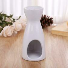 White Ceramic Candle Holder Wax Oil Burner Fragrance Aromatherapy Candlestick