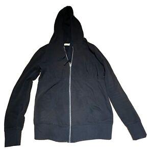 Old Navy Black Maternity Size Medium Full Zip Up Sweatshirt Hoodie. Pregnancy