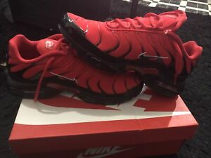Nike Air Max Plus University Red/Black-White 852630-603 Mens Size 9.5 New