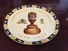 Rare Coalport Centenary Of The Ashes Commemorative Plate