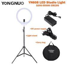Yongnuo RGB YN608 5500K Wireless Ring SMD LED Light For Portrait Macro Selfie