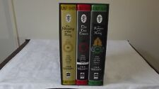 """J.R.R. TOLKIEN THE LORD OF THE RINGS 1991 EDITION THREE BOOK SET IN PUBLISHER""""S"""