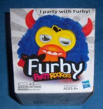 New Furby Party Rockers Creature Blue Virtual Interactive Sealed A3187 Horns
