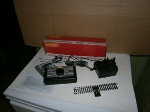 HORNBY R8250 TRAIN CONTROLLER WITH PLUG LEADS POWER TRACK INSTRUCTIONS