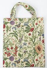 Tapestry Eco Tote Carry Bag Morning Garden Flower Design Signare