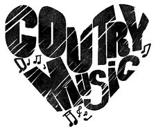 Country Music Lovers Iron On Transfer For T-Shirt & Other Light Color Fabrics #2