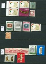 350++ Mint / Used Stamps of PERU - Estate Finds
