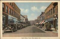 Truro Nova Scotia Inglis St. Vintage Cars Postcard rpx