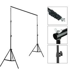 10ft Telescopic Background Backdrop Support Stand Crossbar System Photo Studio