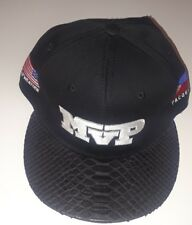 MVP PACQUIAO MAYWEATHER FIGHT BOXING BLACK SNAKESKIN HAT USA PHILIPPINES FLAG