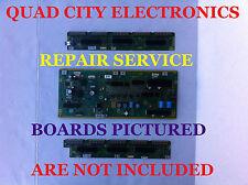 Complete REPAIR SERVICE 7, 14 Blinks TC-P55ST30 TNPA5351 TNPA5340 TNPA5341
