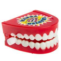 JaRu Novelty Wind Up Chattering Teeth Toy Practical Joke Gag Gift