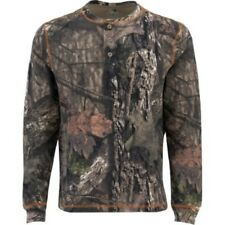 Thermal Henley Mossy Oak Break-Up Country 3 Button Long Sleeve Various Size