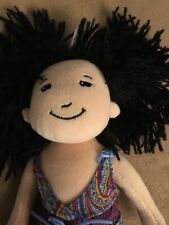 Groovy Girls Tomiko Dark Hair With Groovy Dress EUC Pre-owned!