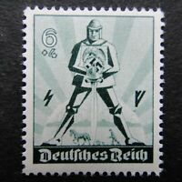 Germany Nazi 1940 Stamp MNH Armed Warrior May Day Swastika WWII Third Reich Germ