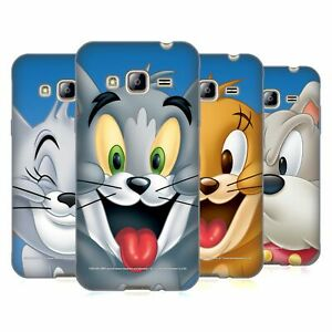 OFFICIAL TOM AND JERRY FULL FACE SOFT GEL CASE FOR SAMSUNG PHONES 3