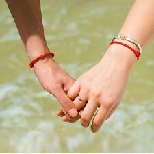 2Pcs Women Men Red String Lucky Bracelet Jewelry Against Evil Eye for Success