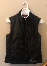 Womens Vest with Fleece Collar Black Small by Cloudveil Jackson Hole, Wyoming
