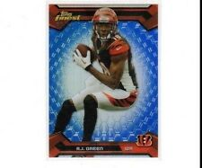 2013 FINEST BLUE REFRACTOR#33 A.J. GREEN SER#61/99