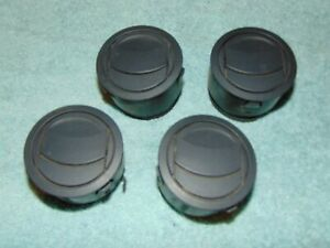 2006 - 2010 JEEP COMMANDER AIR VENT BLACK (SET OF 4) RETROFIT MAZDA MIATA