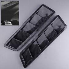 1 Set Auto Lufteinlass Motorhaube Lufthutze Luftstrom Dachhutze Kohlefaser Stil