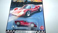 Hot Wheels 2020 Premium Cruise Boulevard '69 Alfa Romeo 33 Stradale Vhtf