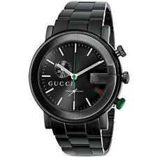 Gucci Stainless Steel Case Wristwatches with Chronograph