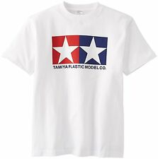 Tamiya Japan Official Original Logo T-shirt White Size:XL