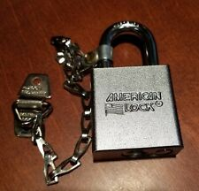 New American Padlock Series 5200 Mil Spec With Chain New In Box