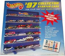 1997 HOT WHEELS COLLECTORS STARTER CASE FOR 1:64 CARS!!