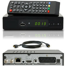 FULL HDTV HD Digital Sat Receiver M310 plus + HDMI Kabel DVB-S2 USB Scart DXH310
