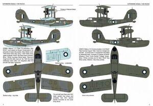 1/72 RED ROO DECALS; Supermarine Seagull V / Walrus  RAAF/RNZAF/RAF