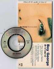 """BOY GEORGE The Crying Game JAPAN 3"""" CD PODP-1075 Culture Club PET SHOP BOYS"""