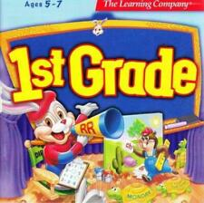 Reader Rabbit 1st Grade Pc Cd learn reading math science solve problem read game