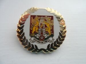 Northampton Town Football Supporters Club Enamel Badge (1)