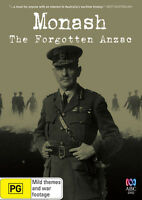 Monash The Forgotten Anzac ABC Presentation WWI DVD General Monash