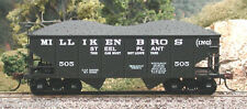 Bowser  MILLIKEN BROTHERS  GLa 2-Bay Coal Hopper Car #505 KIT  NIB