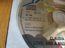 CLAUDIA BRÜCKEN Love And A Million Other Things  SWITZERLAND CD issue propaganda