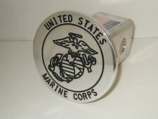 hitch cover, usmc black ,tahoe,expedition,MARINES