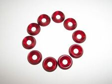Kart 10 x M6 x 18mm x 4mm CSK Countersunk Washer Brand New Red Kart Parts UK