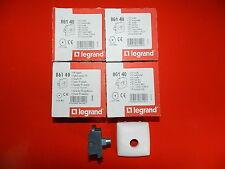 Réf 86140 LEGRAND LOT 4 PRISES TV SIMPLE SAILLIE COMPOSABLE IP 2X BLANC NEUF