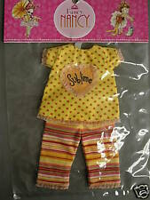 TONNER EFFANBEE FANCY NANCY SUBLIME TOP/ PANTS NRFP