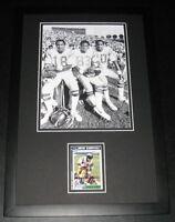 Charlie Joiner Signed Framed Photo Display 11x17 JSA Chargers