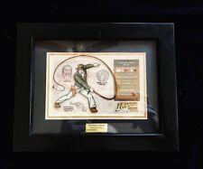 Disney Acme Archives INDIANA JONES Character Key #215/1000 Framed