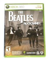 Xbox 360 Live The Beatles Rock Band Video Game Microsoft 2007 Complete
