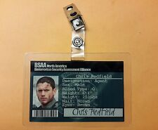 Resident Evil ID Badge-BSAA North America Chris Redfield cosplay costume prop