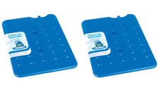 2 x Thermos Freeze Board Ice Pack Block 800g For Cool Bag Chill Box Cooler