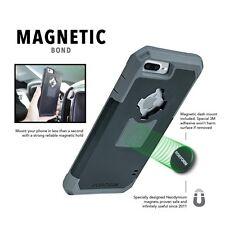 Rockform V3 Case Rugged Black Gun Metal Car Dash Mount Apple iPhone 7 PLUS